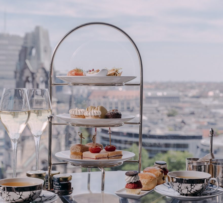 High Tea mit Aussicht