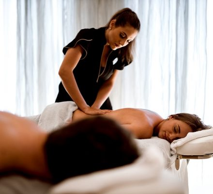 Partnermassage im Guerlain Spa Berlin