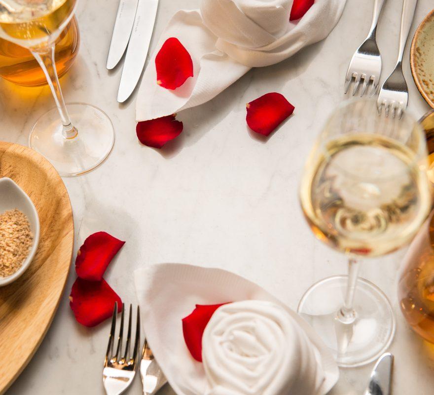 Romantisches Abendessen zum Valentinstag im ROCA Restaurant Berlin